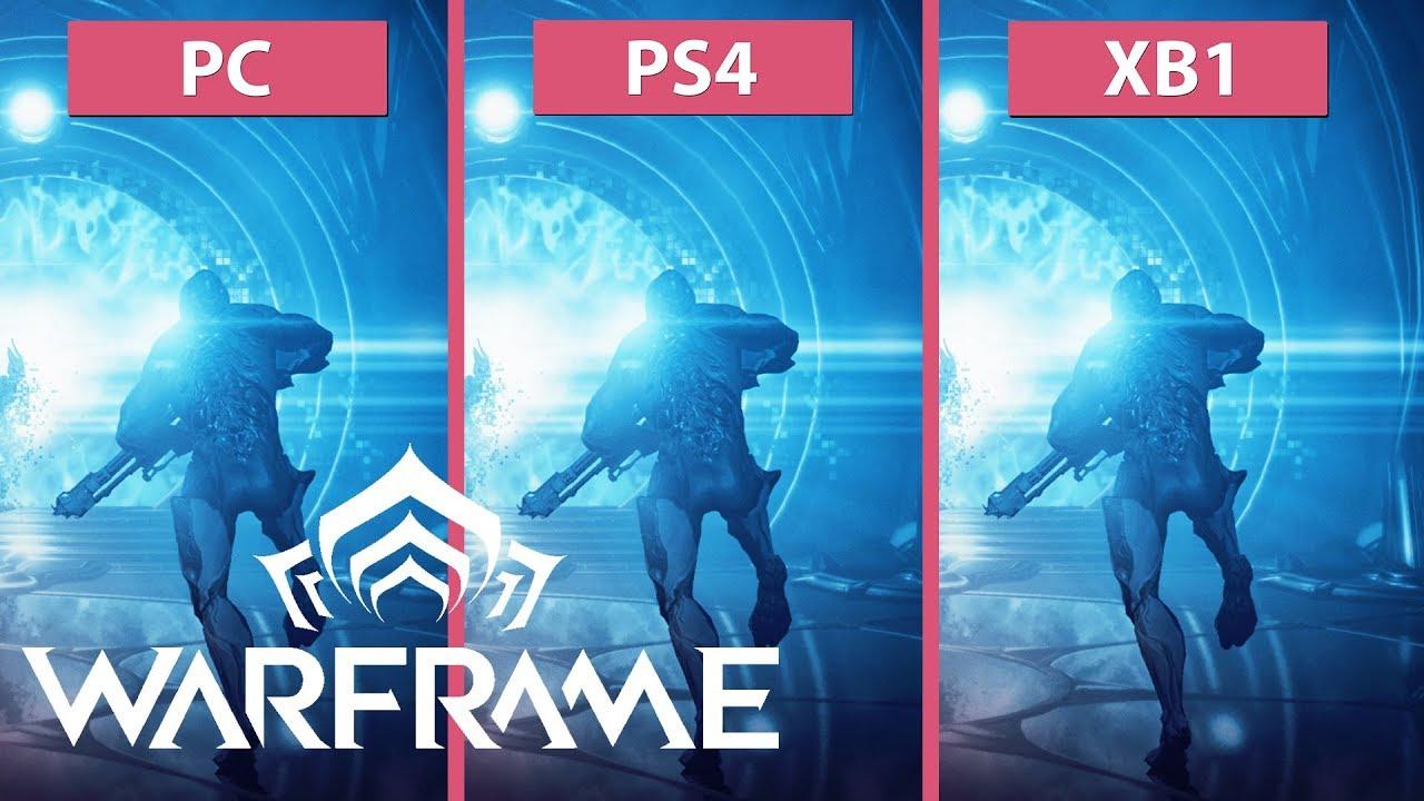 Warframe – PC vs  PS4 vs  Xbox One Frame Rate Test & Graphics Comparison