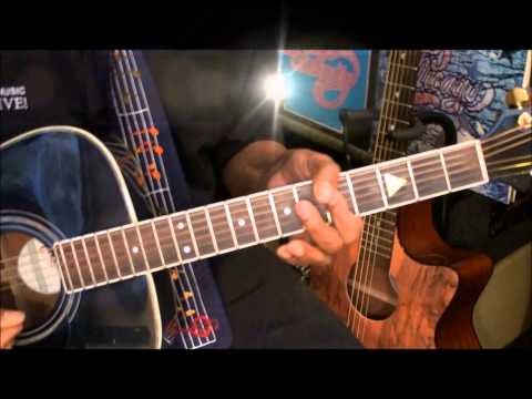 Chicago 25 Or 6 To 4 How To Play On Acoustic Guitar Lesson EricBlackmonMusicHD