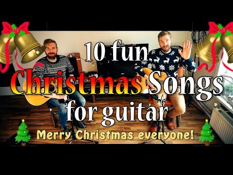 TOP 10 CHRISTMAS songs for guitar!
