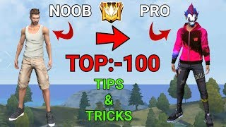 🤩TOP 100 TIPS & TRICKS - GARENA FREE FIRE 😲 // NG 💝💝 //PART-1//