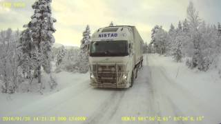 Ice road trucking in west Norway :)