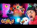 PIGGY GOOZY? Thanksgiving Gurkey Update + Lights Out Mode (FGTeeV Fan Art Gameplay #4)
