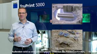 TRUMPF: Ask the Expert – 3D printing with 500 °C preheating in tooling industry