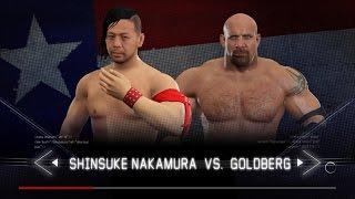 WWE 2K17 - Shinsuke Nakamura vs Goldberg