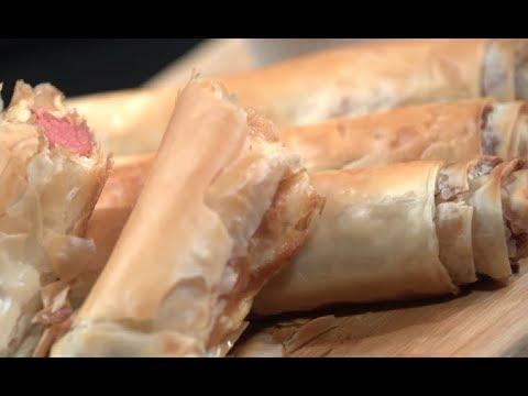 الكوردن دوج/ رول الهوت دوج بالجلاش | سارة عبد السلام | سنة اولي طبخ PNC FOOD