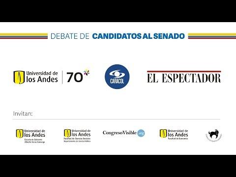 Debate de Candidatos al Senado
