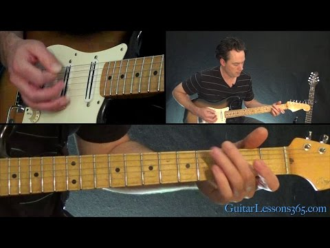 Down Under Guitar Lesson - Men At Work