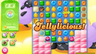 Candy Crush Jelly Saga Level 1606 (3 stars, No boosters)