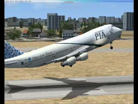 Thumbnail: PIA taking off from Lahore
