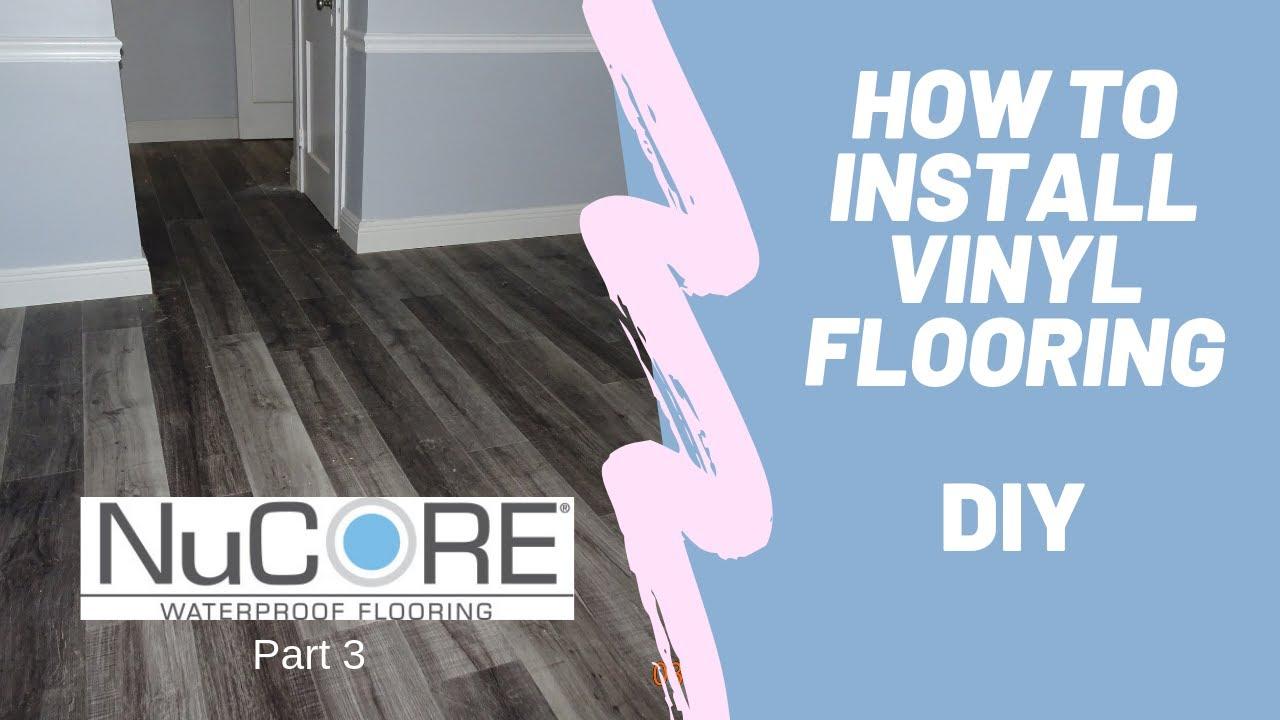 Diy Vinyl Flooring Installation