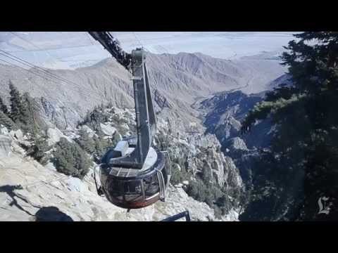 On the Palm Springs Aerial Tramway: A Minute Away