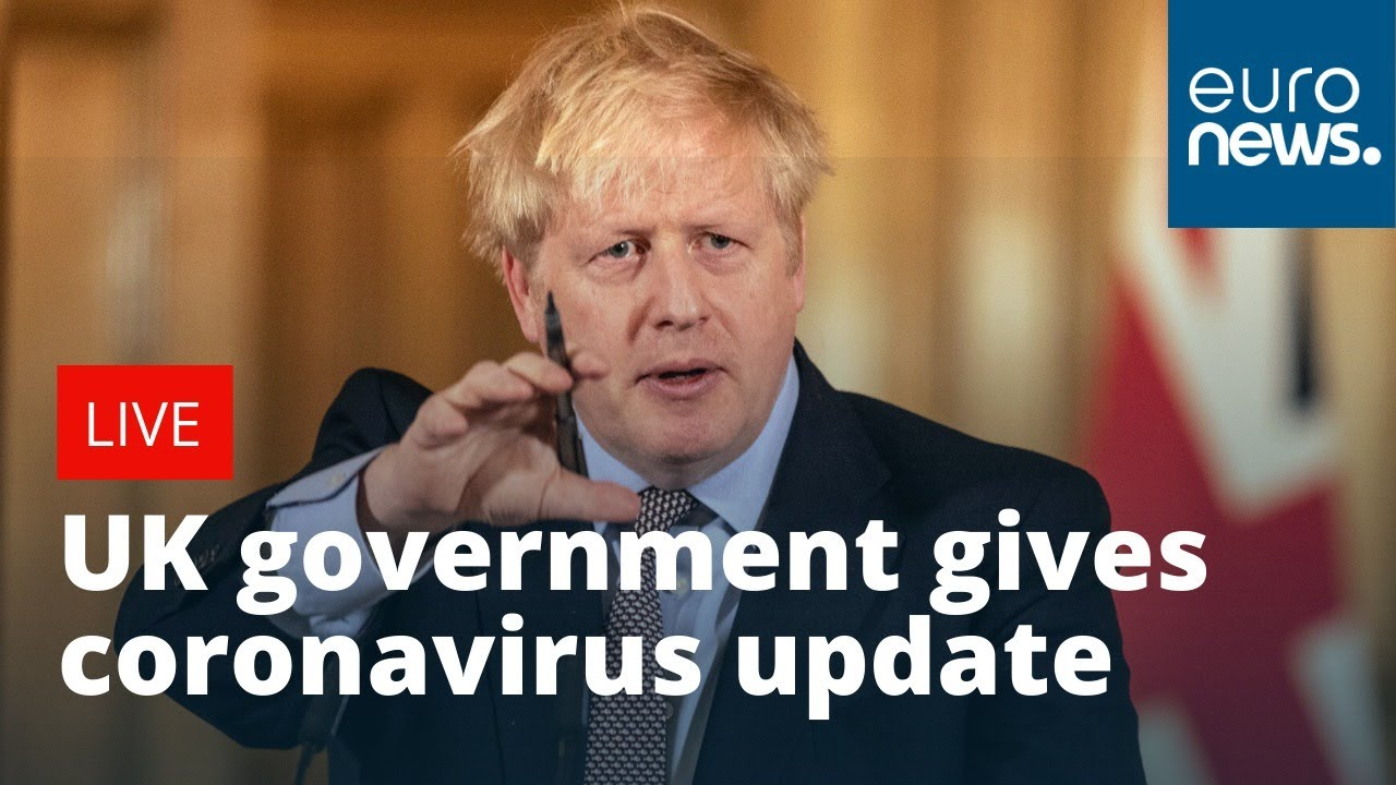 CORONAVIRUS: UK government give daily briefing to update on COVID ...
