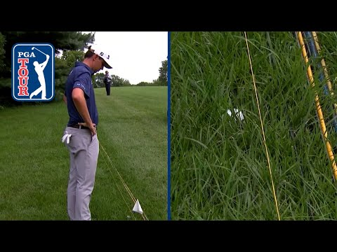 Poston out of bounds by inches, makes costly double after ruling at Barbasol