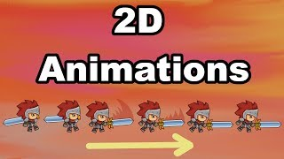 Unity: 2d Animations  Beginner Tutorial