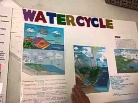 Suned high school project about water cycle. April 14.