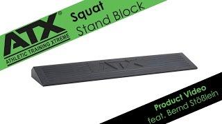 ATX® Squat Stand Block