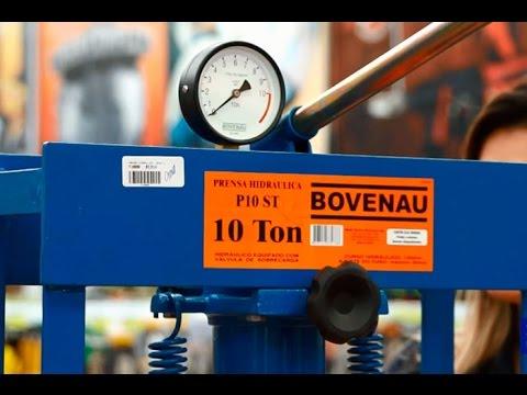 Bovenau - Prensa Hidráulica 10 toneladas