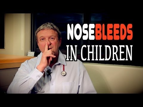 Stopping Frequent Nosebleeds in youngsters