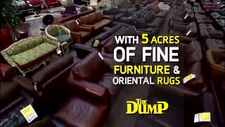 OLD TV COMMERCIAL The Dump Furniture   Free Delivery & Pay Nothing until 2017 2