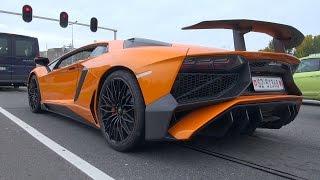 Lamborghini Aventador LP750-4 SuperVeloce - INSANE REVS!!