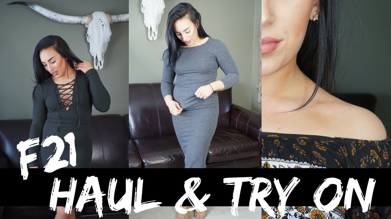 big ass forever21 haul & try on! | chels nichole - youtube