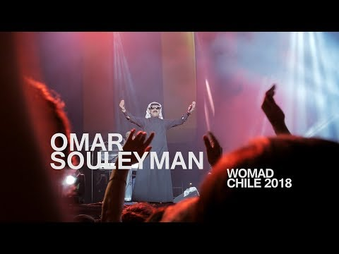 Omar Souleyman - En vivo Chile Womad 2018 - Omar Souleyman Live at Womad 2018 - Santiago, Chile