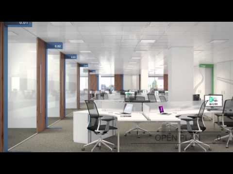 Office Design & Fit-Out Concept Development For Enterprise Rent-A-Car