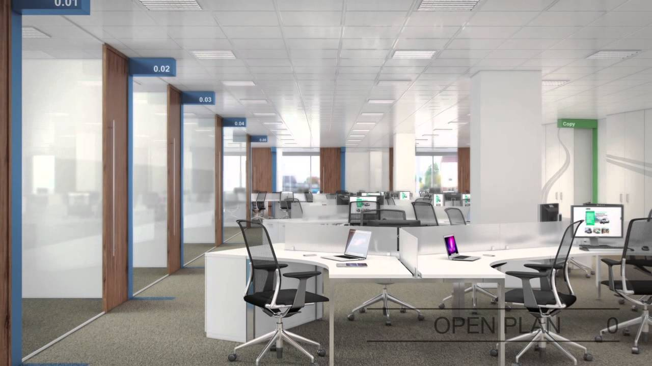 Office Design Fit Out Concept Development For Enterprise Rent A
