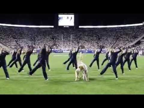 Bet You Can't Do it Like Me Challenge BYU Cougars College Football Cheer dance squad
