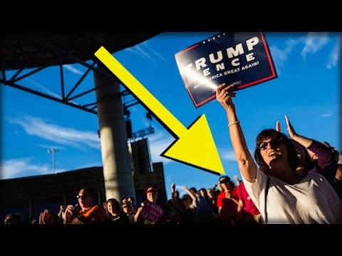 EVERYONE IN AMERICA JUST NOTICED SOMETHING INCREDIBLE AT TRUMP'S RALLY IN FLORIDA TODAY
