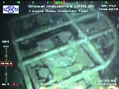 Deepwater Horizon ROV Found