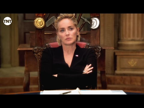 Sharon Stone - Behind the Scenes I Agent X I TNT