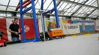 Container-Terminal und Köhlbrandbrücke im Glashaus in Quickborn