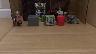 BLIND BOXES: MINECRAFT ROBLOX PAW PATROL & minecraft card/sticker pack, part 3 (final part)