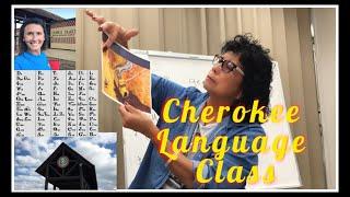Cherokee Language Class With Lou! Come Along!
