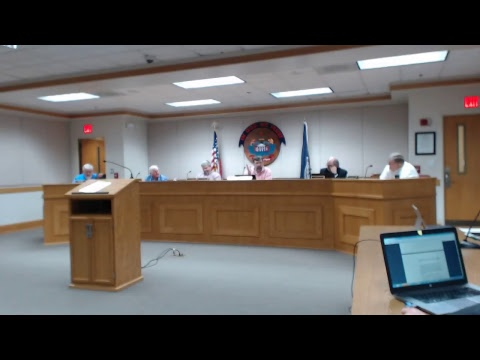 Carroll County Board of Supervisors Meeting 2122018