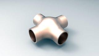 Solidworks Surfaces Example-1 / Solidworks yüzey modelleme Örnek-1