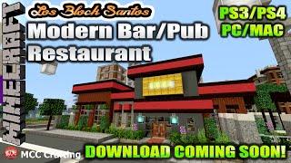 Minecraft Los Block Santos LBS City Daily Update Ep 4 Country Suburban Bar/Pub Restaurant
