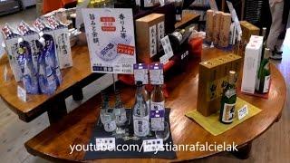 SAKE Kiku-Masamune Brewing Kobe Japan - production, museum, alcohol, history, shop, store