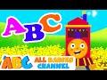 ABC Song | Learn the Alphabet on a Train | HD Nursery Rhymes