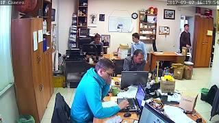 Фрагмент записи видео с камеры Link D23TW-8G