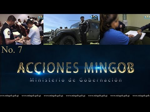 Acciones Mingob No.7