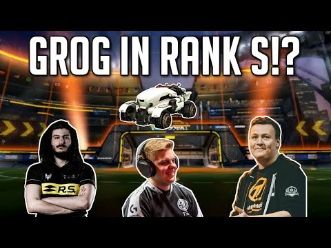 GROG in RANK S!? | W/Al0t & Fairy Peak | Rocket League Rank S Gameplay thumbnail
