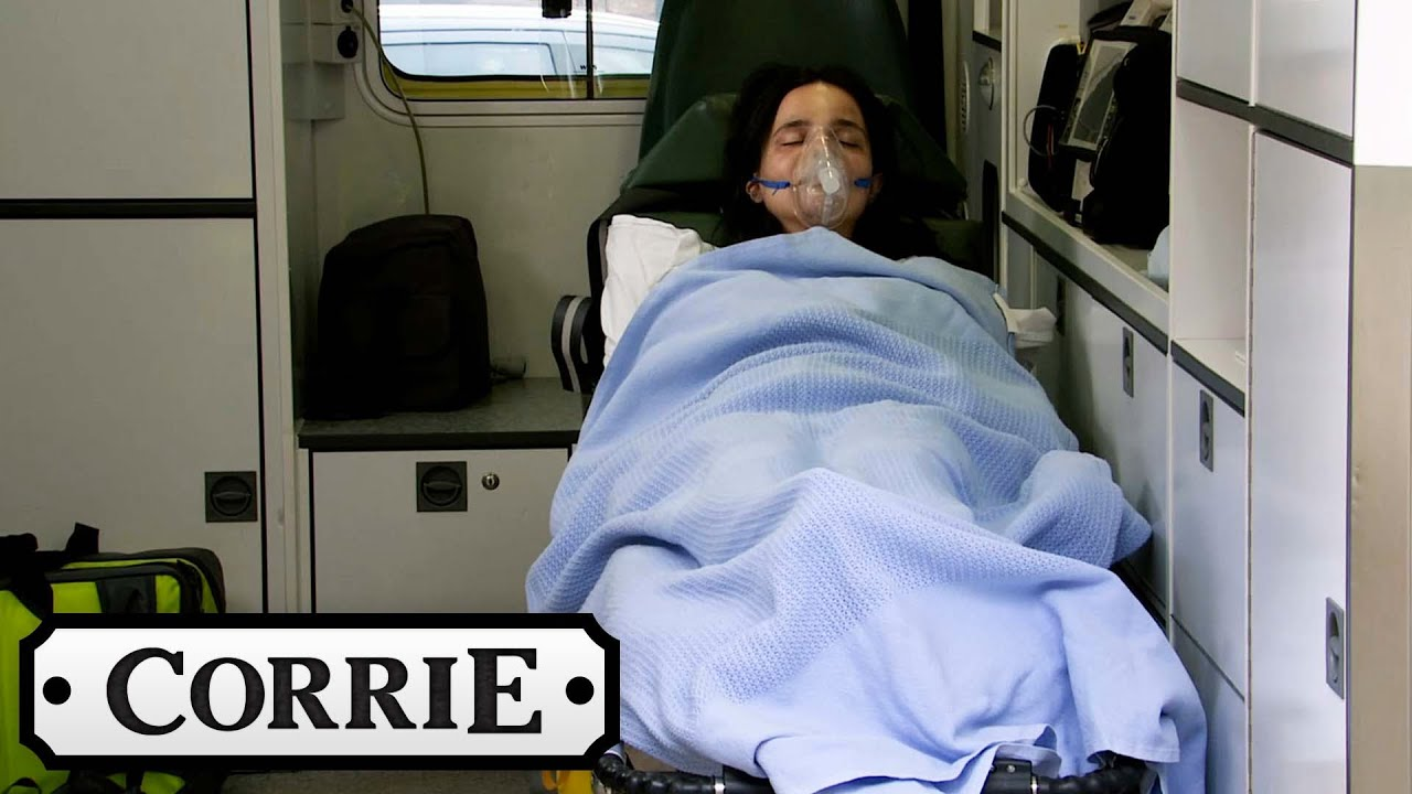 Tyrone Finds Out About the Flat Fire and Alina is Taken to Hospital | Coronation Street