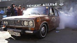 Девяточка с V6, Бернаут на Жиге, Буханочка и Тачка Бородача на тусовке Pro Service(, 2017-05-21T15:00:03.000Z)