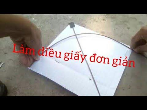 Đông vlogs – hướng dẫn làm diều giấy cực kì đơn giản