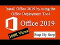 Install Office 2019 by using the Office Deployment Tool