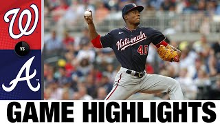 Nationals vs. Braves Game Highlights (8/07/21)