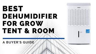 Best Dehumidifier for Gŗow Tent & Room (For Every Budget)