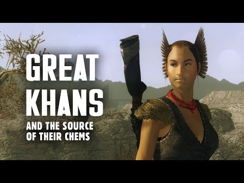 The Great Khans 1: The Source of Their Chems - Fallout New Vegas Lore